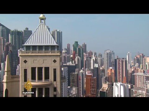 Home prices fall in Hong Kong