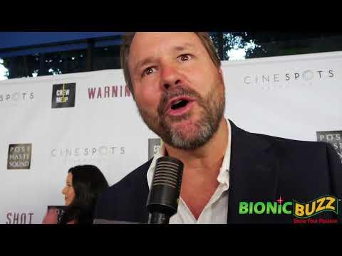 Will Wallace  at Warning Shot World Premiere