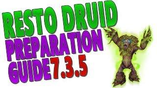 7.3.5 RESTO DRUID PREPARATION GUIDE (Antorus): Legendaries | Talents | Trinkets | Tier 21 & Stats