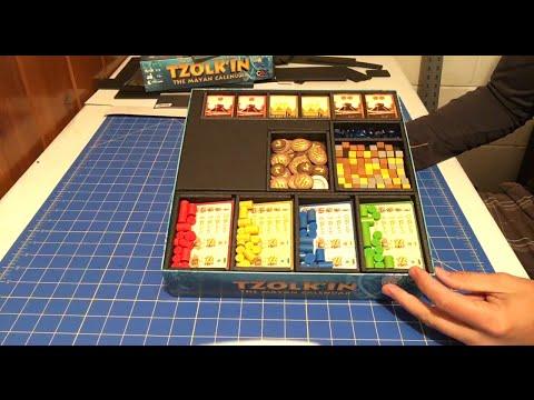 Foam Core Tzolk'in Box