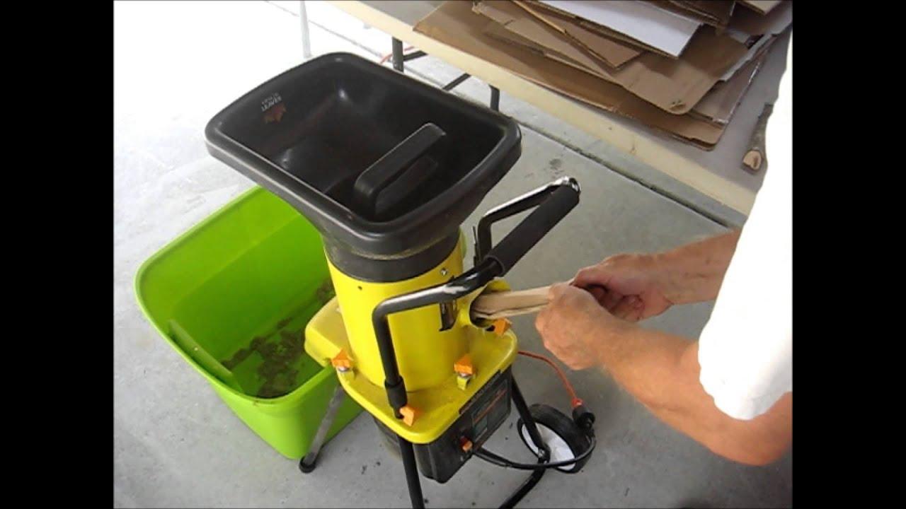 Duro Star Eco Shredder Es1600 Electric Garden Yard Leaf