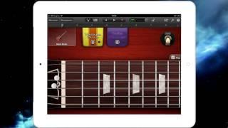 Smoke On The Water видео урок в GarageBand на iPad 2 #1