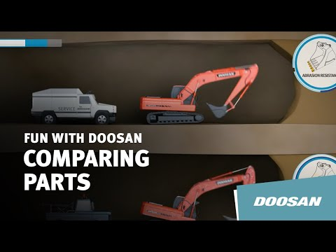 Doosan Genuine Parts vs. Non-Genuine Parts