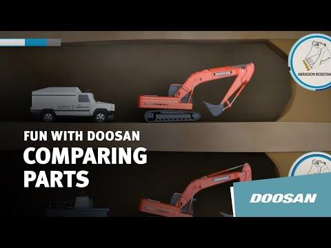 Doosan Genuine Parts Vs. Non-Genuine Parts