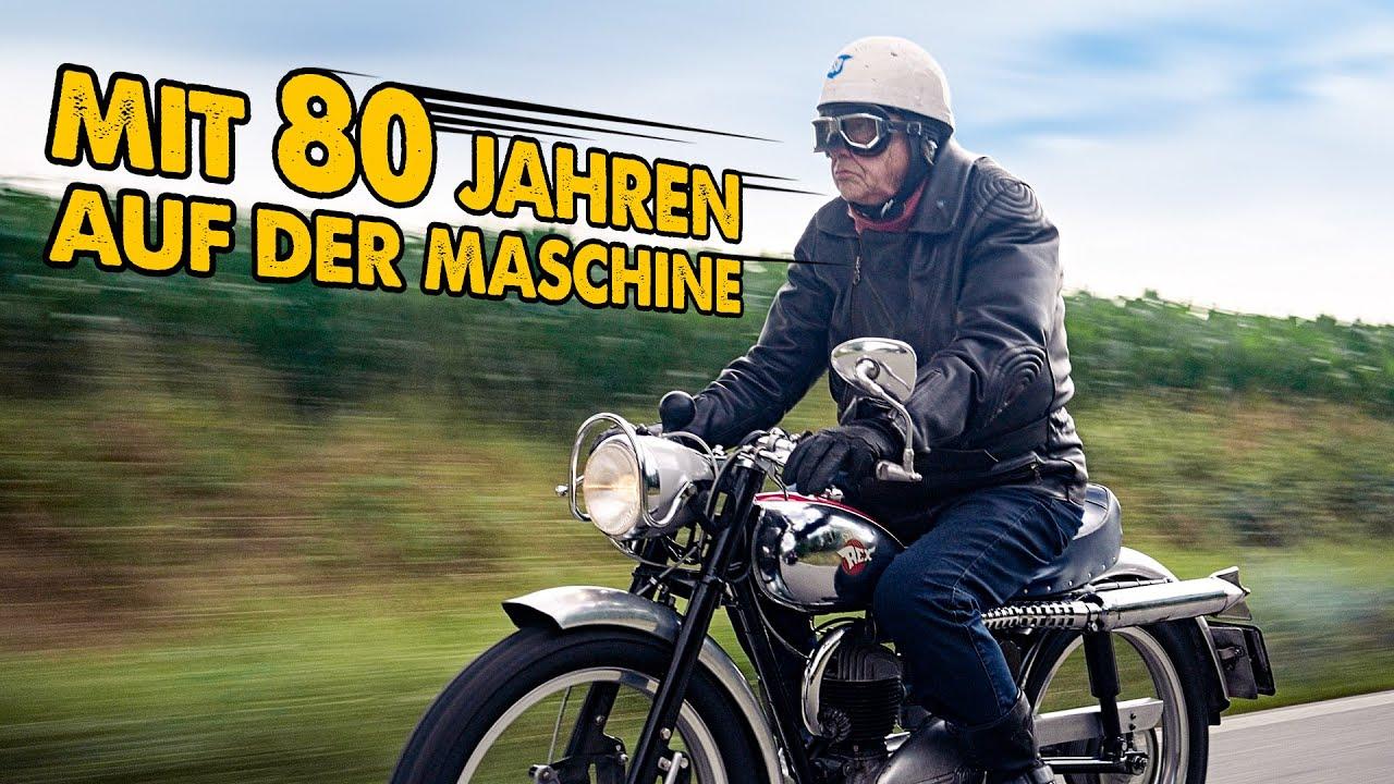 Ewig jung! Mit 80 Jahren auf der Maschine | Rex TT 150cc | Andi Feldmann