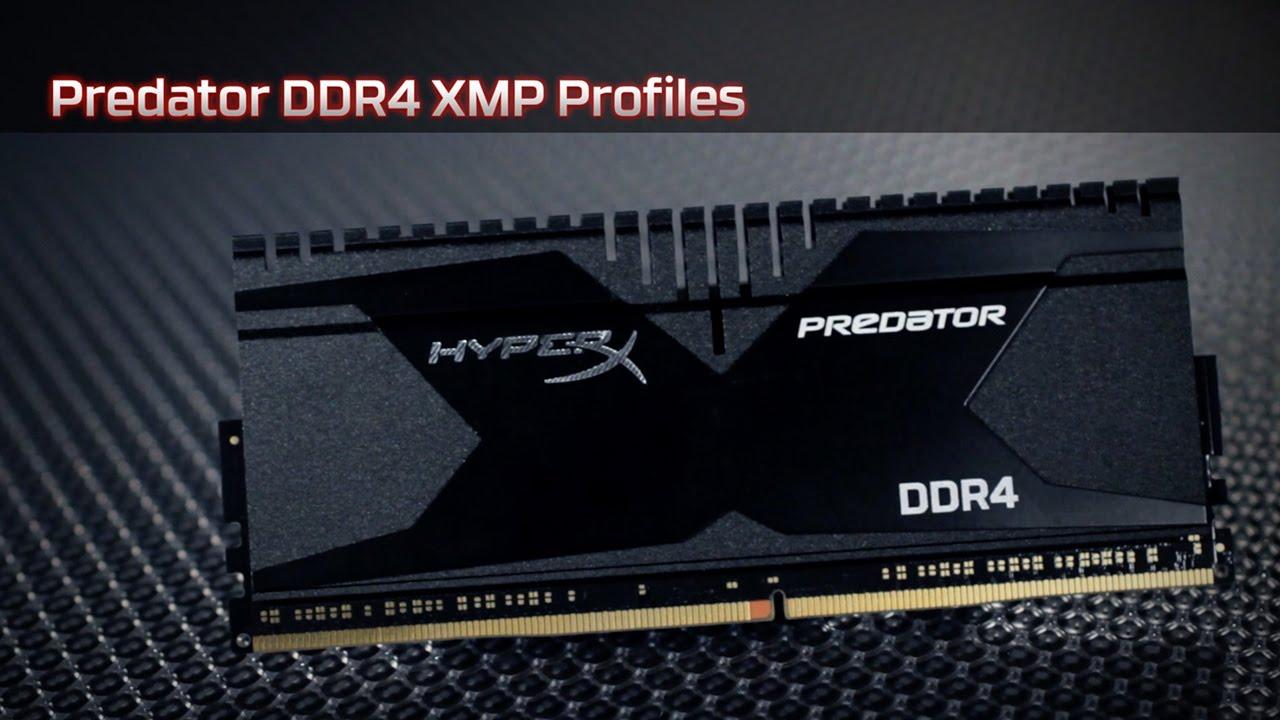 用 HyperX Predator DDR4 記憶體進行 XMP 超頻 - YouTube