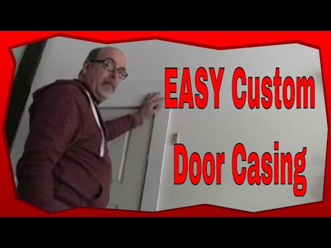 How to custom build door jamb trim diy craftsman style - How to build a door jamb for interior doors ...