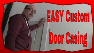 How To Custom Build Door Jamb Trim, Diy Craftsman Style Door Casing