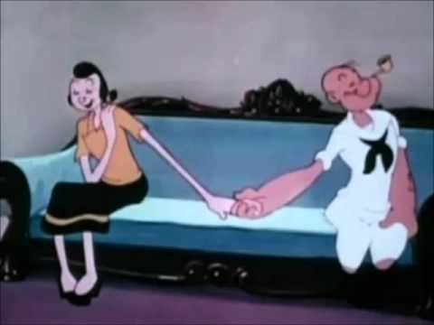 Popeye & Olive Oyl - I'll Love You Too
