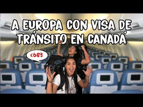 Así Es Viajar A Europa Con Escala En Canadá ¿visa De Tránsito? | MPV En Europa