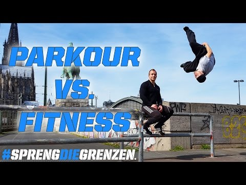 Parkour vs. Fitness #sprengdiegrenzen