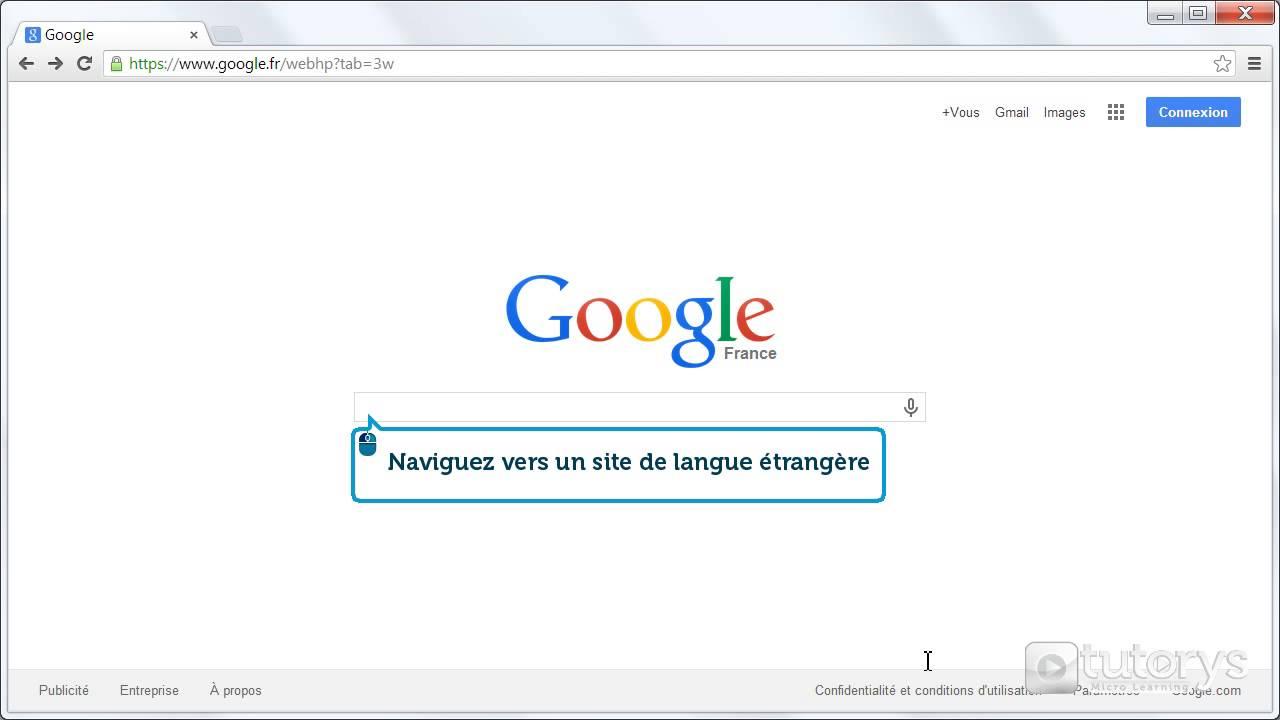 Comment Traduire Une Page Web Avec Google ?