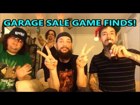 GARAGE SALE GAME FINDS & PAWN SHOP PICKUPS! | Scottsquatch