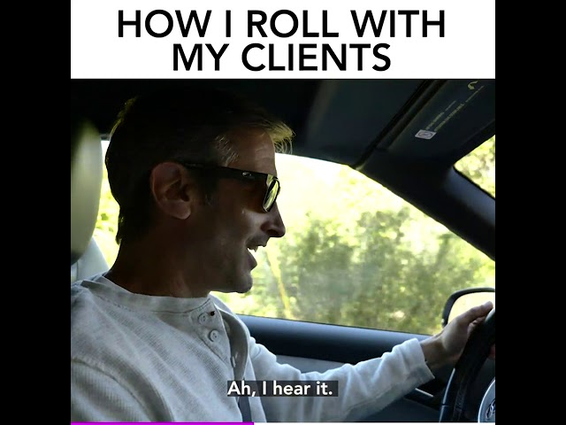 How I Roll With My Clients