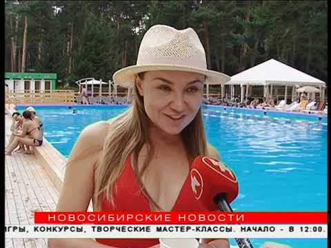 В конце лета новосибирцы предпочитают открытые бассейны