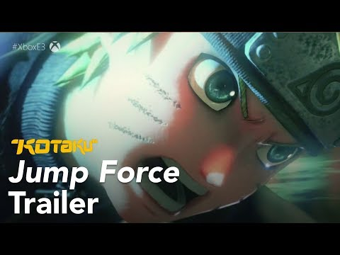 Jump Force Trailer, E3 2018