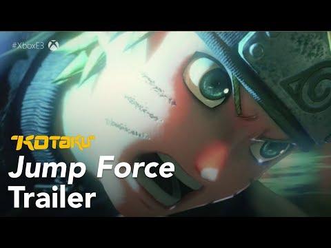 Jump Force Trailer, E3 2018