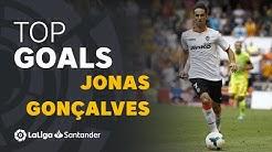 TOP 25 GOALS Jonas Gonçalves en LaLiga Santander