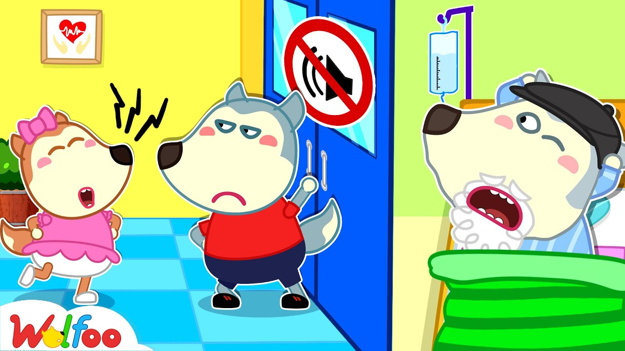 Download No No, Lucy! Don't Make Noise at the Hospital - Wolfoo Learns Kids Good Manners | Wolfoo Channel