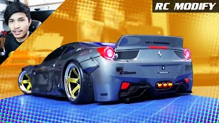 RC Modify 21 | Ferrari 458 Liberty Walk Sakura D4 RWD