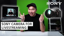 How To Use Your Sony Camera for Livestreaming As Your Webcam | Jason Vong | Sony Alpha Universe