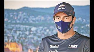 Al piloto mexicano se le volvió a detectar el nuevo brote de coronavirus, por lo que Racing Point confirmó a Nico Hulkenberg como su piloto en su sustitución