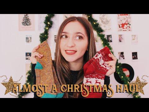 Ένα σχεδόν χριστουγεννιάτικο haul 🎁