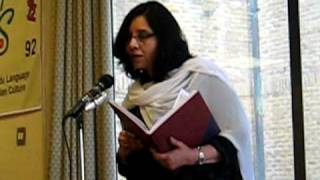 Uzma Siddiqui in REDBRIDGE Mushaira (18 april 2010)