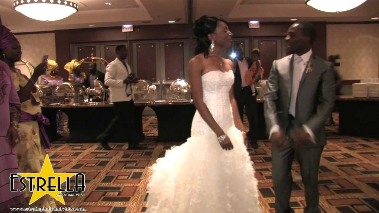 Jide And Modupe Wedding Reception Hyatt Regency Minneapolis Hd Bridal Party Entrance