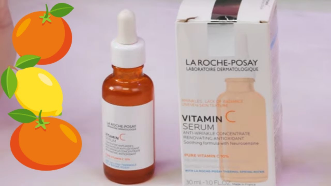 La Roche Posay Pure Vitamin C Face Serum Review How To Use Youtube