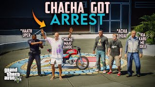 CHACHA G GOT ARREST | HONDA CD 70 | GTA 5 PAKISTAN