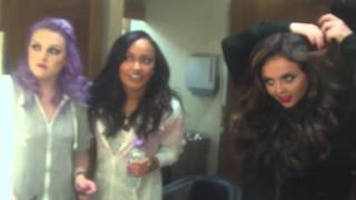 Little Mix Tour Diary: Backstage in Sheffield