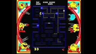 Namco Museum Vol. 1 - Pac-Man (Playstation) Game Play
