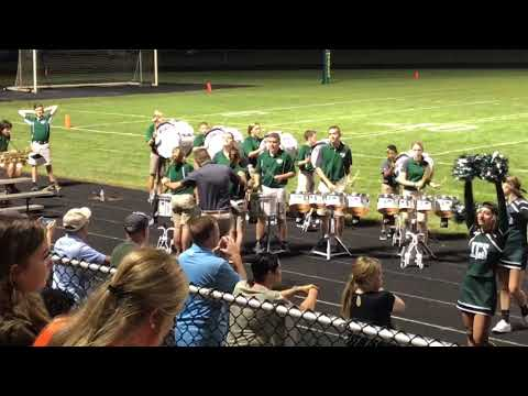 Troy Christian High School Drumline (Vargo Cadence)