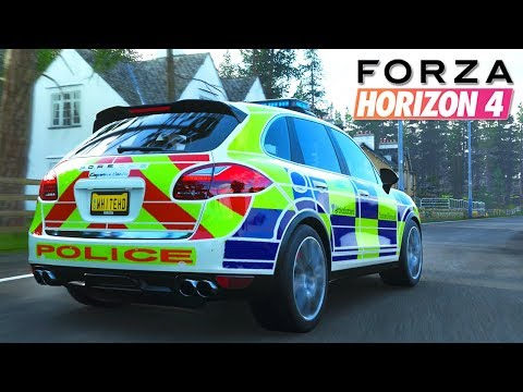 Forza Horizon 4 - POLICE VS VOLEURS FORTUNE ISLAND #1 !! (ARCADE) thumbnail