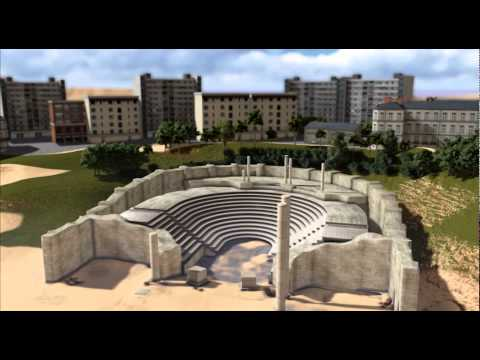 Monuments of the Hellenistic-Roman Period in Egypt-Alexandria in 3D