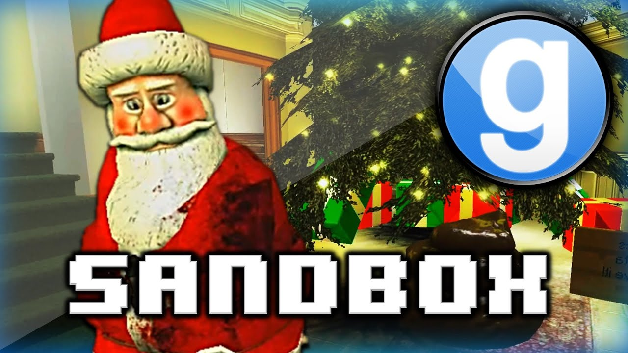 Garry s Mod Sandbox Funny Moments Christmas Edition Santa Bad