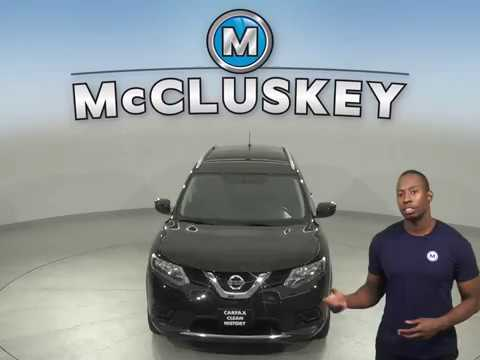 A15358QA Used 2016 Nissan Rogue Black SUV Test Drive, Review, For Sale -