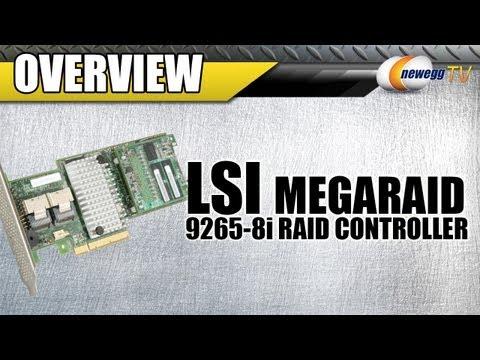 Newegg TV: LSI MegaRAID Internal SAS 9265-8i 6Gb/s RAID Controller Card Overview