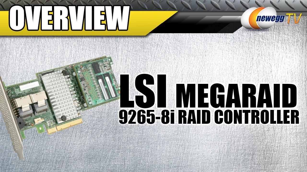 LSI LSI00278 PCI-Express 2 0 x8 SATA / SAS MegaRAID SAS 9265-8i Controller  Card - KIT - Newegg com