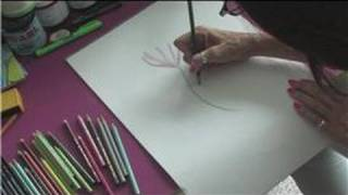 Drawing & Shading Lessons : How to Apply Color Pencil Work into Grisaille