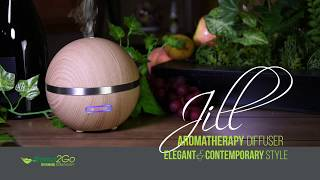 Jill Aromatherapy Diffuser - Instuctions & Cleaning - Aroma2Go