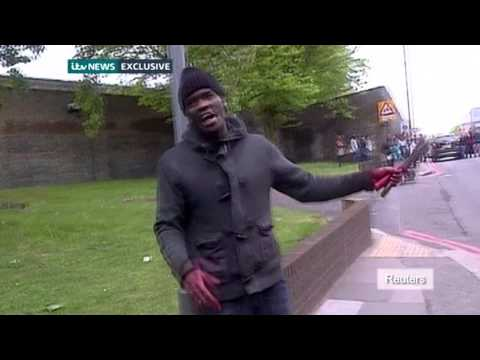 How Woolwich terrorists attacked British soldier