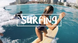 HAWAII: GOING TANDEM SURFING!!