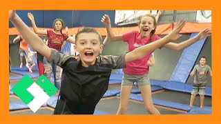 trampoline park with fans day 1698