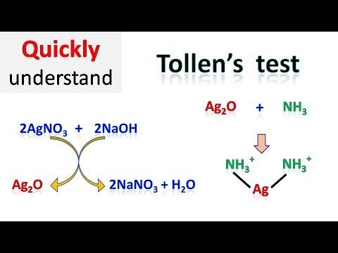 Tollens Test | Silver Mirror Test