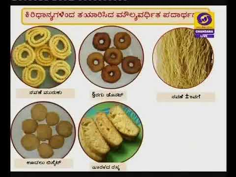 Value additions of millet