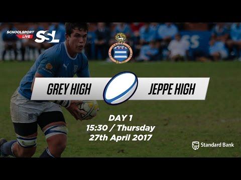 Grey Festival: Grey High 1st XV vs Jeppe High 1st XV, 27 April 2017