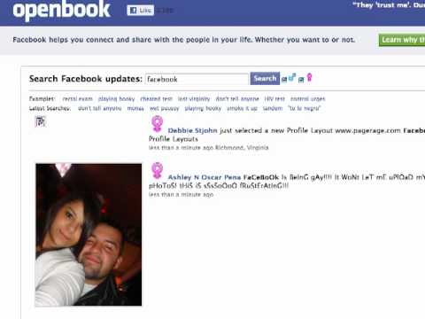 How To Search Facebook Status Updates