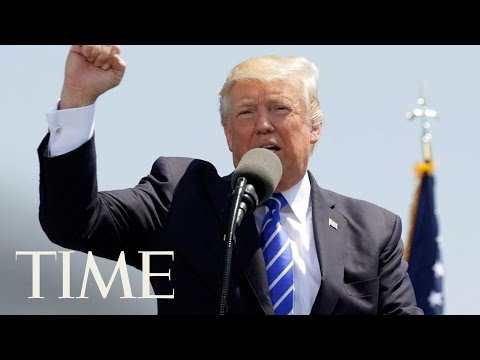 Thumbnail: President Trump Said 'No Politician In History' Has Ever Been Treated As Unfairly As Him | TIME